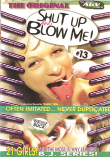 Shut Up And Blow Me! #13 Box Cover