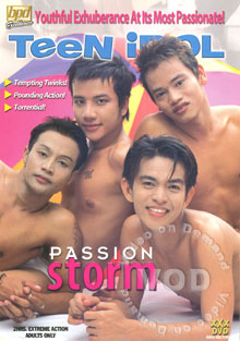 Teen Idol - Passion Storm Box Cover