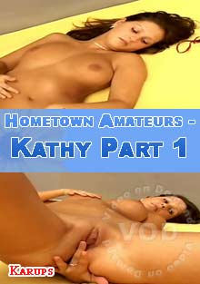 Hometown Amateurs - Kathy Part 1 Box Cover