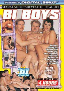 Sexual Secrets Revealed - Real Life Bi Boys Box Cover