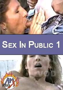 Sex In Public 1 Box Cover