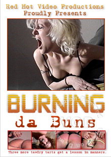 Red Assed Lap Dancing 17 - Burning Da Buns Box Cover