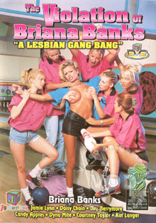 The Violation Of Briana Banks - A Lesbian Gang Bang Box Cover