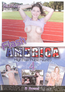 Flash America 4 - High Risk Public Nudity Box Cover