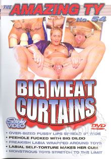 The Amazing Ty No. 54 Big Meat Curtains Box Cover