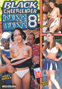 Black Cheerleader Gang Bang 8 Box Cover