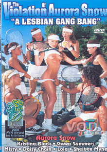The Violation Of Aurora Snow - A Lesbian Gang Bang Box Cover