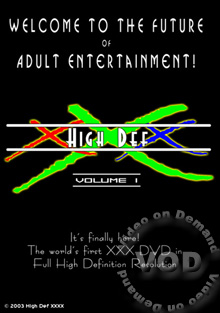 High Def XXX Volume 1 - Scene 3 Box Cover