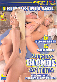 Bucking Blonde Bottoms Box Cover