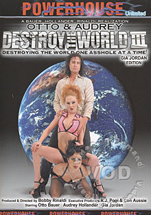 Otto & Audrey Destroy The World III - Gia Jordan Edition Box Cover
