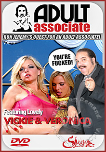Adult Associate Vol 13 Featuring Lovely Vickie & Veronica Box Cover