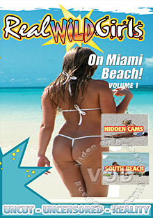 Real Wild Girls - On Miami Beach Volume 1 Box Cover