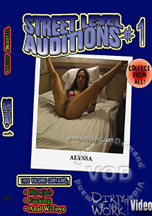 Street Level Auditions #1 Box Cover