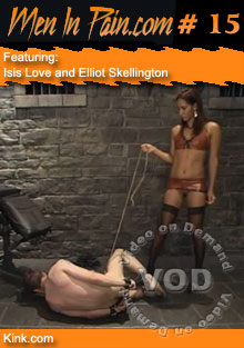 Men In Pain #15 Featuring Isis Love and Elliot Skellington