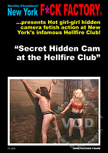 Secret Hidden Cam At The Hellfire Club Box Cover