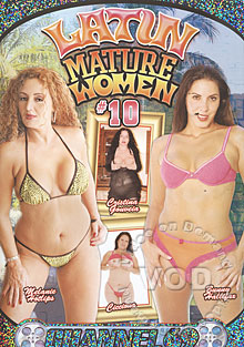 Latin Mature Women #10 Box Cover