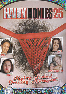 Hairy Honies 25 Box Cover