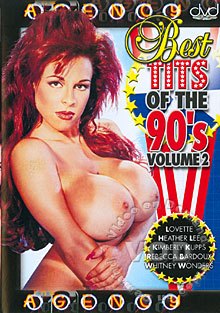 Best Tits Of The 90's Volume 2 Box Cover