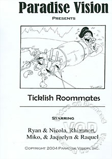 Ticklish Roommates Box Cover