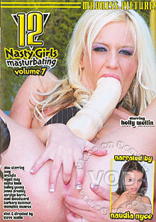 12 Nasty Girls Masturbating Volume 7 Box Cover