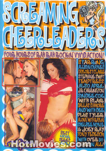 Screaming Cheerleaders Box Cover