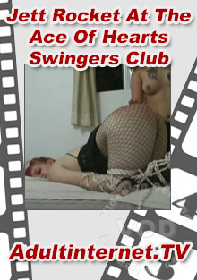 Jett Rocket At The Ace Of Hearts Swingers Club Box Cover