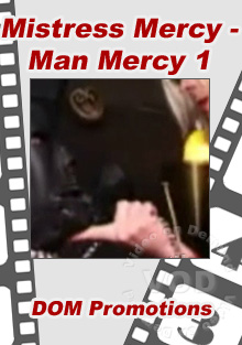 Mistress Mercy - Man Mercy 1 Box Cover