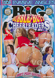 Big Bubble-Butt Cheerleaders Box Cover
