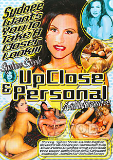 Sydnee Steele - Up Close & Personal Box Cover