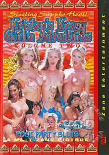 Kristen's Krazy Girlie Adventures Volume Two Box Cover