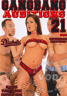 Gangbang Auditions #21 Box Cover