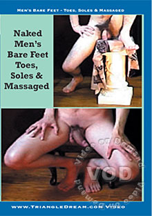 Men's Bare Feet - Toes & Soles  Massaged