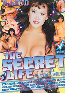 The Secret Life of Asia Carrera Box Cover