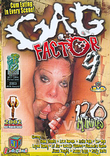 Gag Factor 9 Box Cover