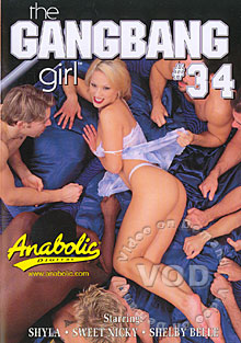 The Gangbang Girl #34 Box Cover