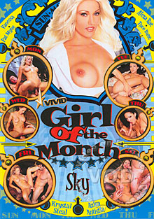 Girl Of The Month - Sky Box Cover