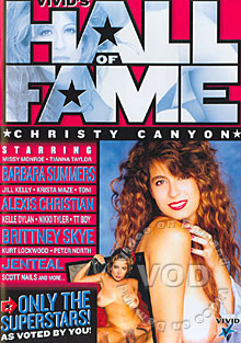 Hall Of Fame - Christy Canyon Box Cover