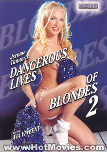 Dangerous Lives Of Blondes 2 Box Cover