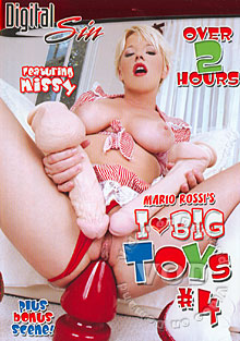 I Love Big Toys #4 Box Cover