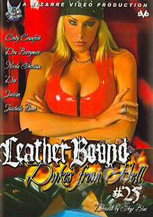 Leather Bound Dykes From Hell #25 Box Cover