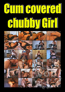 Cum Covered Chubby Girl Box Cover