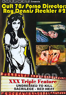 Cult 70s Porno Director - Ray Dennis Steckler #2 Box Cover
