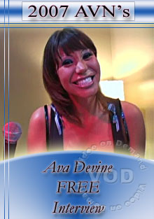 2007 AVN Interview - Ava Devine Box Cover