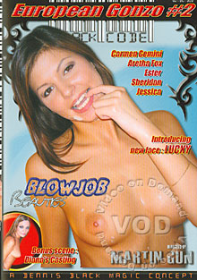 European Gonzo #2 - Blowjob Beauties Box Cover