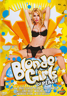 Blonde Girls of Peach Box Cover