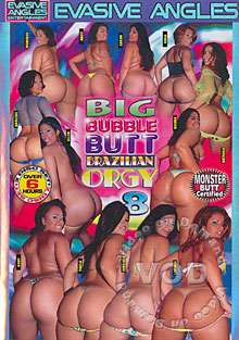 Big Bubble Butt Brazilian Orgy 8 Box Cover
