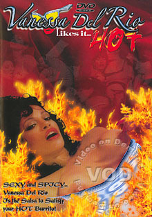 Vanessa Del Rio Likes It Hot Box Cover