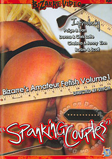Bizarre's Amateur Fetish Volume 1 - ''Spanking Couples'' Box Cover