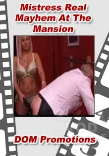 Mistress Real - Mayhem At The Mansion Box Cover