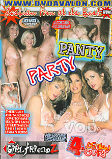 Panty Party Box Cover